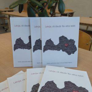 """Noslēdzies skolēnu patriotiskās dzejas konkurss""""Latvija, cik daudz Tev vēlos teikt!"""""""